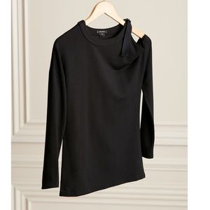 The Buckle Up Cold Shoulder Top- New!